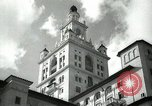 Image of Hotel buildings Coral Gables section of Miami Florida USA, 1936, second 22 stock footage video 65675031882