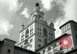 Image of Hotel buildings Coral Gables section of Miami Florida USA, 1936, second 23 stock footage video 65675031882