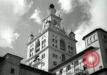 Image of Hotel buildings Coral Gables section of Miami Florida USA, 1936, second 26 stock footage video 65675031882