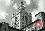 Image of Hotel buildings Coral Gables section of Miami Florida USA, 1936, second 27 stock footage video 65675031882