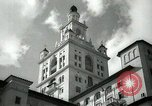 Image of Hotel buildings Coral Gables section of Miami Florida USA, 1936, second 29 stock footage video 65675031882