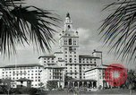 Image of Hotel buildings Coral Gables section of Miami Florida USA, 1936, second 32 stock footage video 65675031882