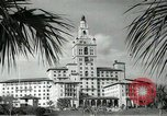 Image of Hotel buildings Coral Gables section of Miami Florida USA, 1936, second 33 stock footage video 65675031882