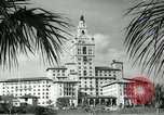 Image of Hotel buildings Coral Gables section of Miami Florida USA, 1936, second 34 stock footage video 65675031882