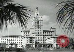 Image of Hotel buildings Coral Gables section of Miami Florida USA, 1936, second 35 stock footage video 65675031882