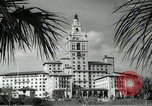 Image of Hotel buildings Coral Gables section of Miami Florida USA, 1936, second 37 stock footage video 65675031882