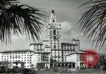Image of Hotel buildings Coral Gables section of Miami Florida USA, 1936, second 39 stock footage video 65675031882