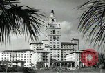 Image of Hotel buildings Coral Gables section of Miami Florida USA, 1936, second 40 stock footage video 65675031882