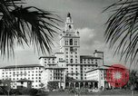 Image of Hotel buildings Coral Gables section of Miami Florida USA, 1936, second 42 stock footage video 65675031882