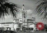 Image of Hotel buildings Coral Gables section of Miami Florida USA, 1936, second 43 stock footage video 65675031882
