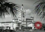 Image of Hotel buildings Coral Gables section of Miami Florida USA, 1936, second 44 stock footage video 65675031882
