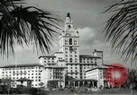 Image of Hotel buildings Coral Gables section of Miami Florida USA, 1936, second 45 stock footage video 65675031882