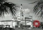 Image of Hotel buildings Coral Gables section of Miami Florida USA, 1936, second 46 stock footage video 65675031882