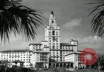 Image of Hotel buildings Coral Gables section of Miami Florida USA, 1936, second 49 stock footage video 65675031882
