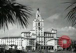 Image of Hotel buildings Coral Gables section of Miami Florida USA, 1936, second 51 stock footage video 65675031882