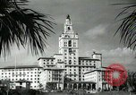 Image of Hotel buildings Coral Gables section of Miami Florida USA, 1936, second 52 stock footage video 65675031882