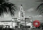 Image of Hotel buildings Coral Gables section of Miami Florida USA, 1936, second 53 stock footage video 65675031882