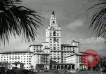 Image of Hotel buildings Coral Gables section of Miami Florida USA, 1936, second 55 stock footage video 65675031882