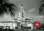 Image of Hotel buildings Coral Gables section of Miami Florida USA, 1936, second 57 stock footage video 65675031882