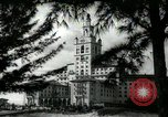 Image of Hotel buildings Coral Gables section of Miami Florida USA, 1936, second 60 stock footage video 65675031882