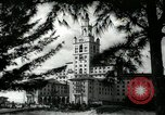 Image of Hotel buildings Coral Gables section of Miami Florida USA, 1936, second 62 stock footage video 65675031882