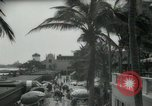 Image of 1930s tourists in West Palm Beach  West Palm Beach Florida USA, 1936, second 14 stock footage video 65675031890