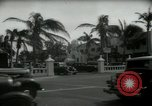 Image of 1930s tourists in West Palm Beach  West Palm Beach Florida USA, 1936, second 26 stock footage video 65675031890
