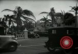 Image of 1930s tourists in West Palm Beach  West Palm Beach Florida USA, 1936, second 28 stock footage video 65675031890