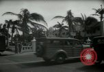 Image of 1930s tourists in West Palm Beach  West Palm Beach Florida USA, 1936, second 29 stock footage video 65675031890