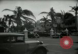 Image of 1930s tourists in West Palm Beach  West Palm Beach Florida USA, 1936, second 30 stock footage video 65675031890