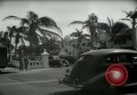 Image of 1930s tourists in West Palm Beach  West Palm Beach Florida USA, 1936, second 32 stock footage video 65675031890
