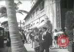 Image of 1930s tourists in West Palm Beach  West Palm Beach Florida USA, 1936, second 39 stock footage video 65675031890