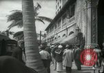 Image of 1930s tourists in West Palm Beach  West Palm Beach Florida USA, 1936, second 42 stock footage video 65675031890