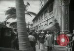 Image of 1930s tourists in West Palm Beach  West Palm Beach Florida USA, 1936, second 43 stock footage video 65675031890