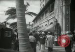 Image of 1930s tourists in West Palm Beach  West Palm Beach Florida USA, 1936, second 44 stock footage video 65675031890
