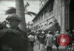 Image of 1930s tourists in West Palm Beach  West Palm Beach Florida USA, 1936, second 46 stock footage video 65675031890