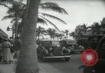 Image of 1930s tourists in West Palm Beach  West Palm Beach Florida USA, 1936, second 53 stock footage video 65675031890