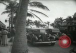 Image of 1930s tourists in West Palm Beach  West Palm Beach Florida USA, 1936, second 54 stock footage video 65675031890
