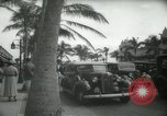Image of 1930s tourists in West Palm Beach  West Palm Beach Florida USA, 1936, second 55 stock footage video 65675031890