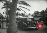 Image of 1930s tourists in West Palm Beach  West Palm Beach Florida USA, 1936, second 56 stock footage video 65675031890
