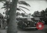 Image of 1930s tourists in West Palm Beach  West Palm Beach Florida USA, 1936, second 57 stock footage video 65675031890