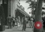 Image of 1930s tourists in West Palm Beach  West Palm Beach Florida USA, 1936, second 59 stock footage video 65675031890