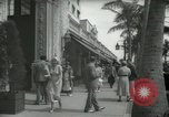 Image of 1930s tourists in West Palm Beach  West Palm Beach Florida USA, 1936, second 60 stock footage video 65675031890