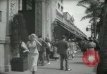 Image of 1930s tourists in West Palm Beach  West Palm Beach Florida USA, 1936, second 61 stock footage video 65675031890