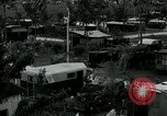 Image of trailer camp Miami Florida USA, 1936, second 2 stock footage video 65675031898