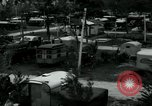 Image of trailer camp Miami Florida USA, 1936, second 7 stock footage video 65675031898