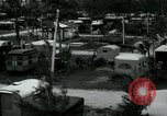 Image of trailer camp Miami Florida USA, 1936, second 8 stock footage video 65675031898