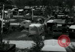 Image of trailer camp Miami Florida USA, 1936, second 10 stock footage video 65675031898