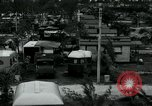 Image of trailer camp Miami Florida USA, 1936, second 13 stock footage video 65675031898