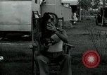 Image of trailer camp Miami Florida USA, 1936, second 31 stock footage video 65675031898
